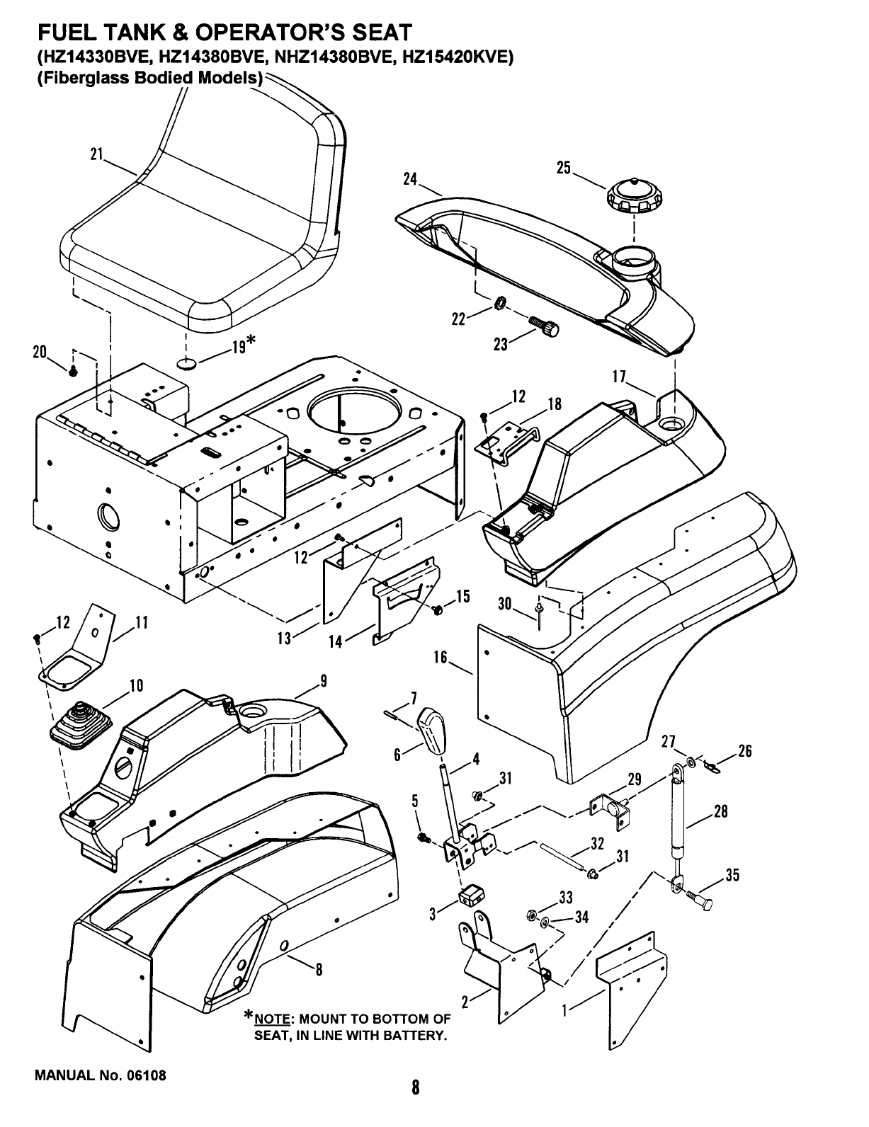 Page 10 of Snapper Lawn Mower HZ15420KVE User Guide