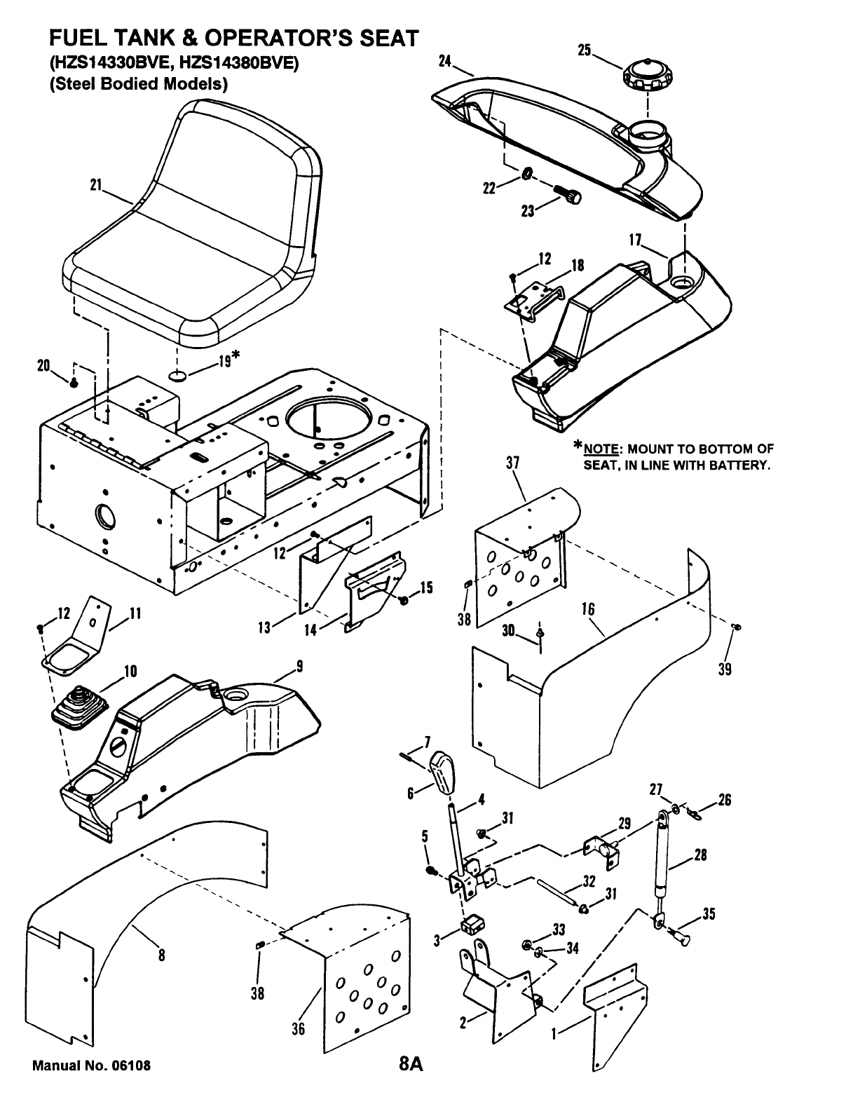 Page 11 of Snapper Lawn Mower HZS14380BVE User Guide