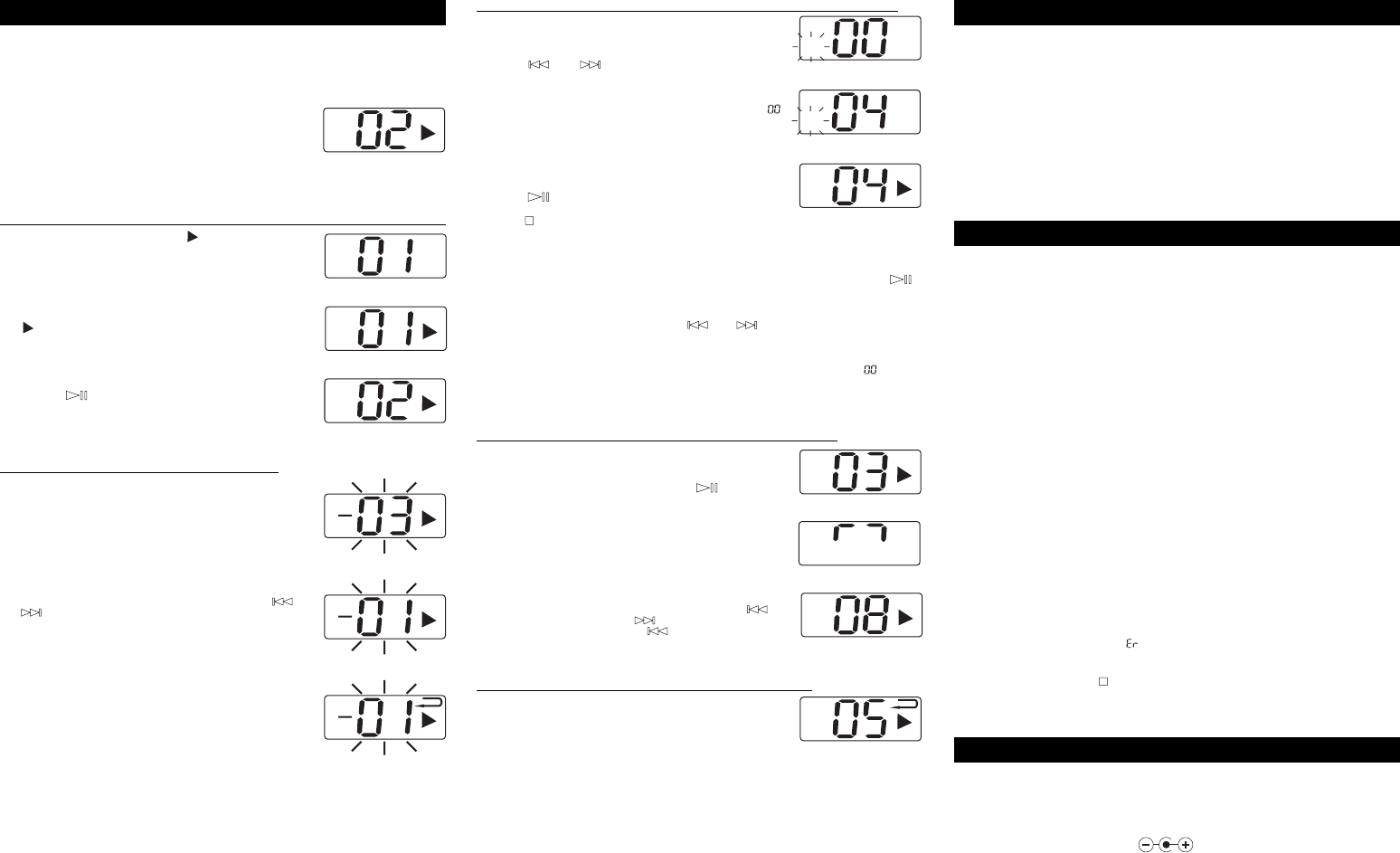 Page 2 of Audiovox CD Player 811-870091-170 User Guide