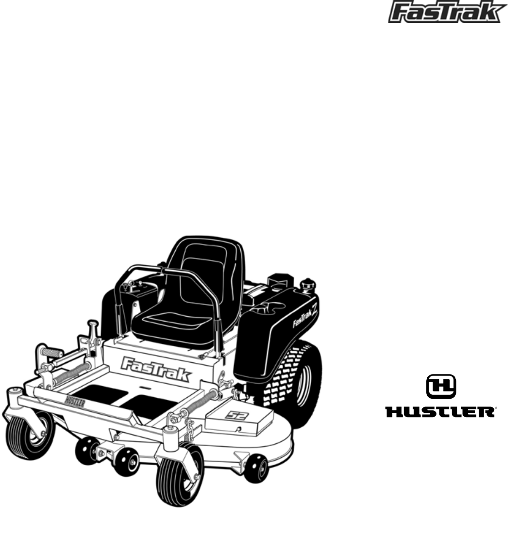 Hustler Turf Lawn Mower Lawn Mower User Guide