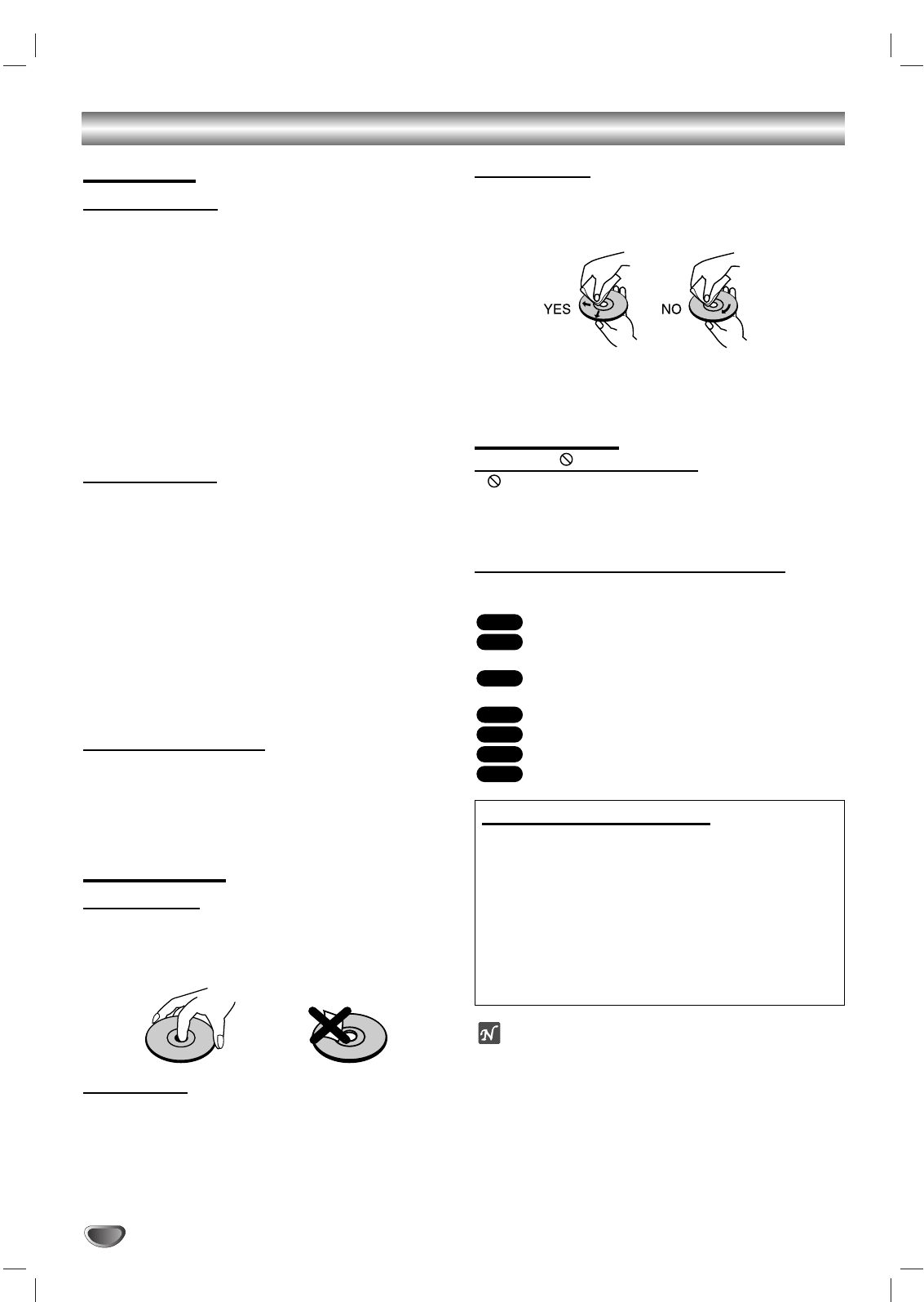 Page 6 of Toshiba Speaker System SD-K530SU User Guide