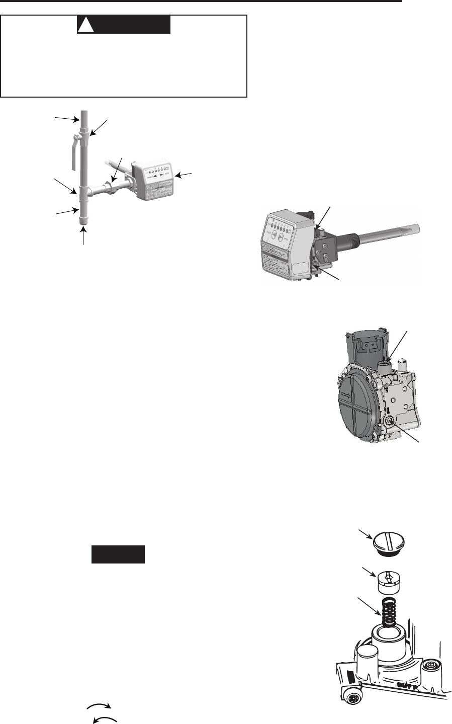 Page 3 of White Rodgers Thermostat 927 User Guide
