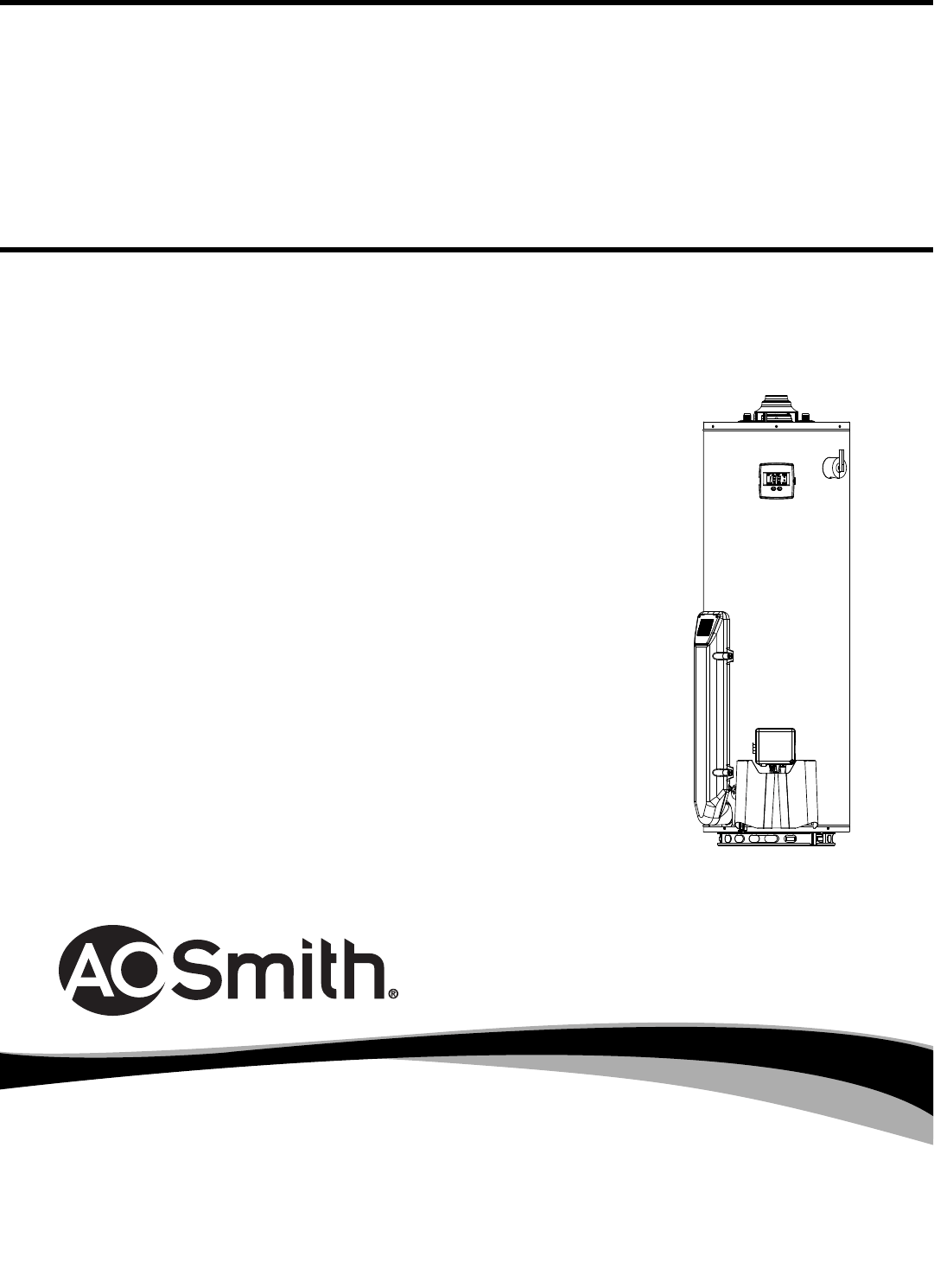 A.O. Smith Water Heater PCG2J5040T3NOV 100 User Guide