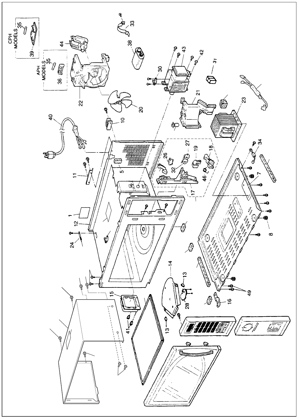 Page 2 of Panasonic Microwave Oven NE-1024F User Guide