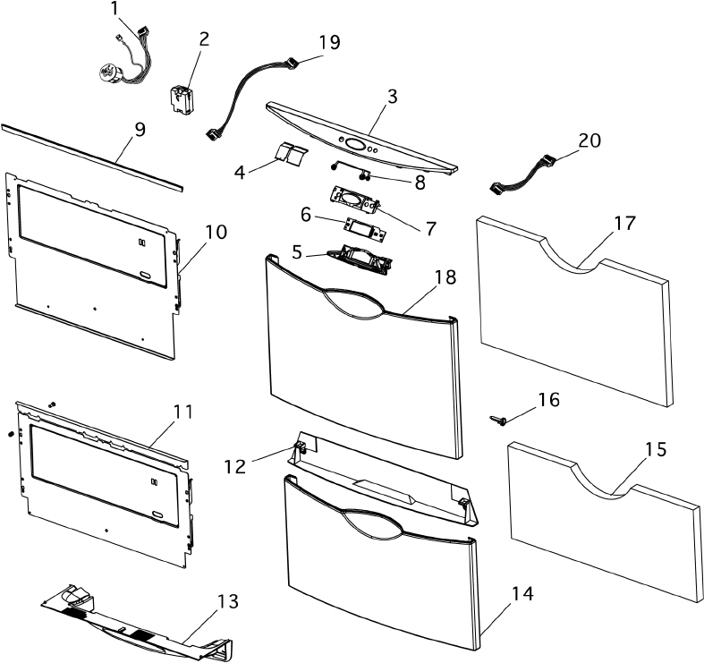 Page 8 of Fisher & Paykel Dishwasher DS603H User Guide
