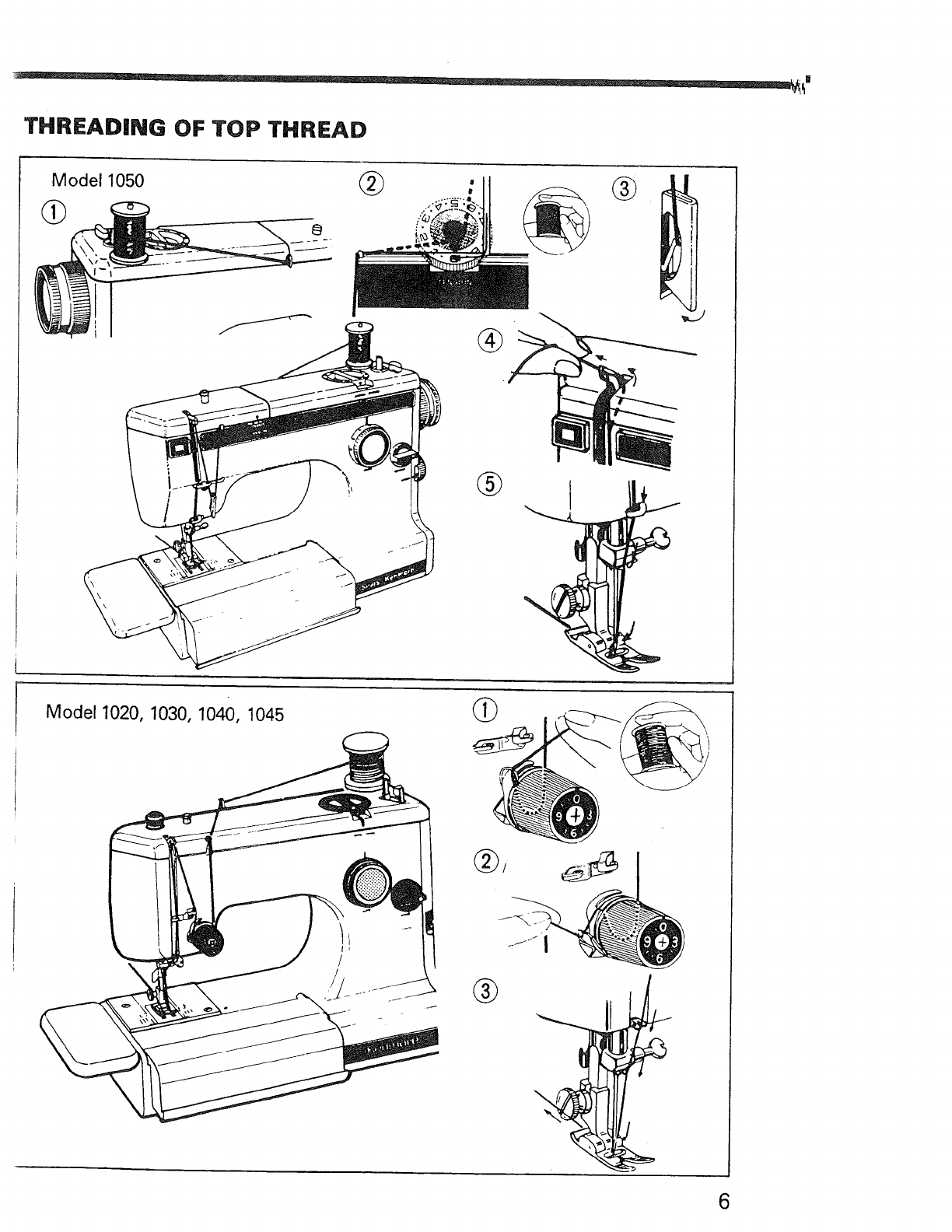 Page 7 of Kenmore Sewing Machine 1040 User Guide