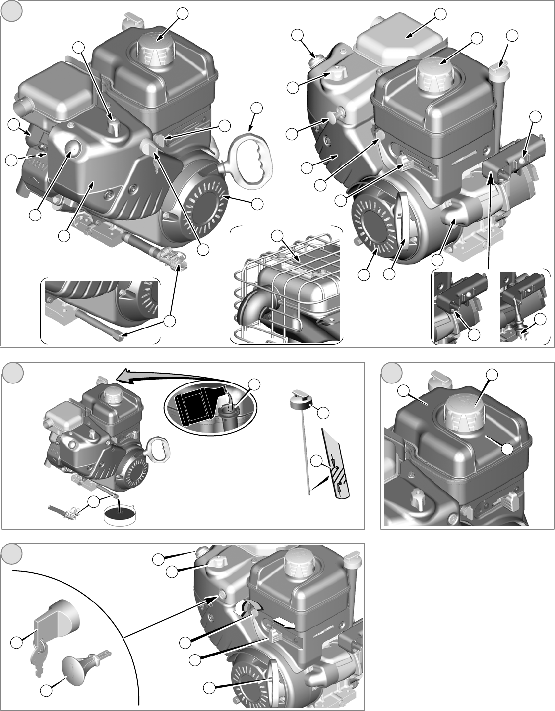 Page 2 of Briggs & Stratton Snow Blower 120000 User Guide