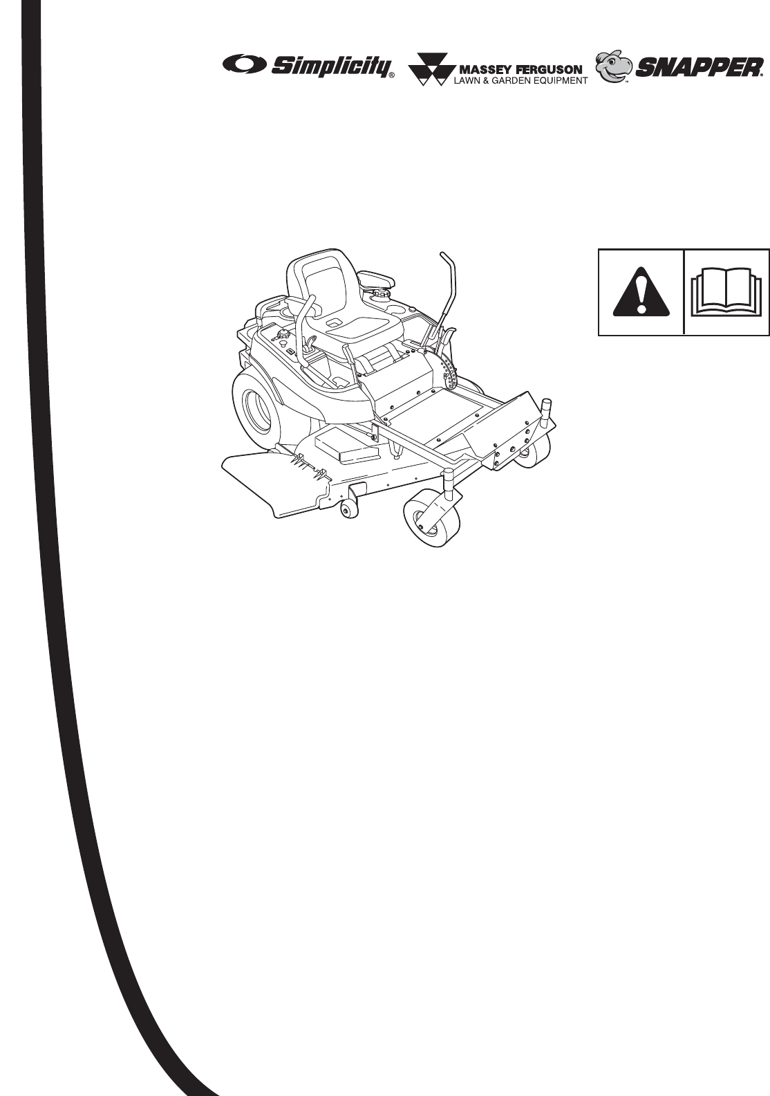 Briggs & Stratton Lawn Mower 355Z User Guide