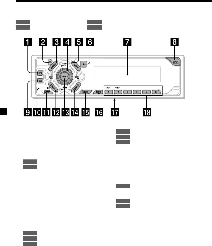 Page 4 of Sony CD Player CDX-CA690X User Guide