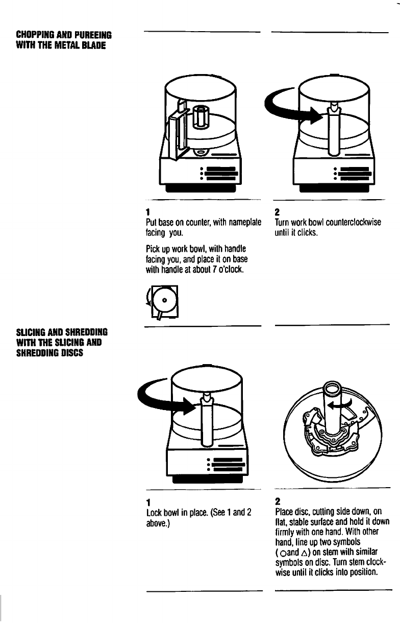 Page 2 of Cuisinart Food Processor DLC-10S User Guide