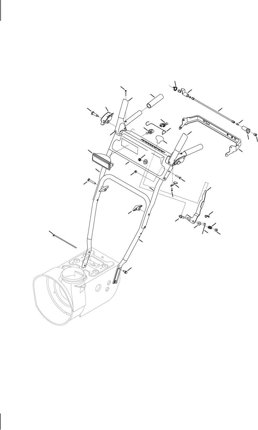 Page 4 of MTD Snow Blower 600-Series User Guide