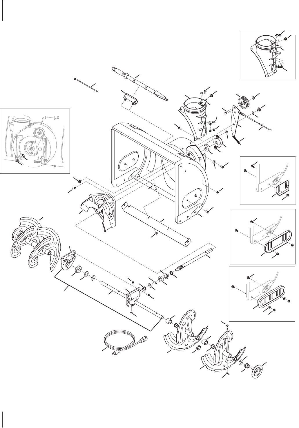 Page 10 of MTD Snow Blower 600-Series User Guide