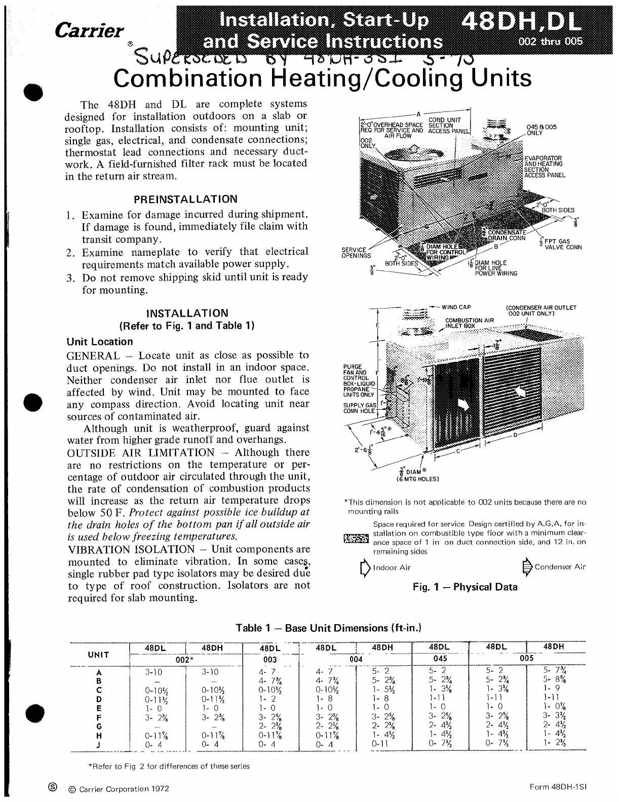 Carrier Tstatccprh01 B User Manual