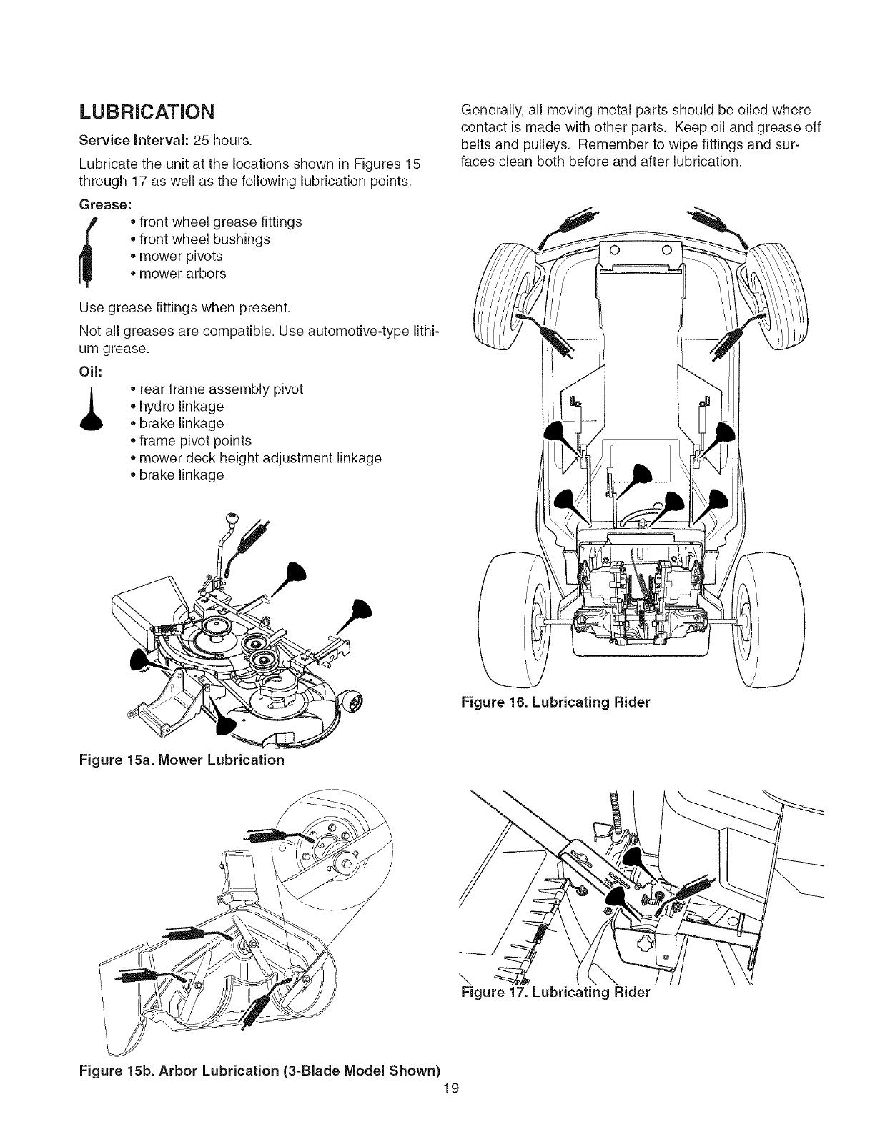 Page 19 of Craftsman Lawn Mower 107.27768 User Guide