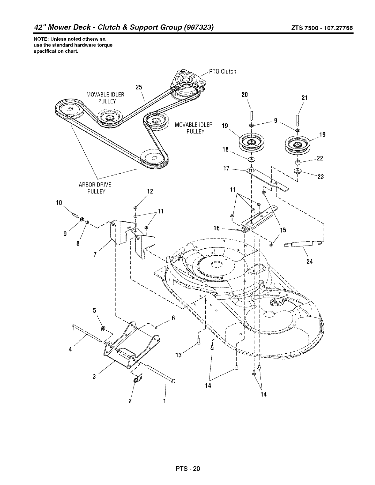 Page 84 of Craftsman Lawn Mower 107.27768 User Guide
