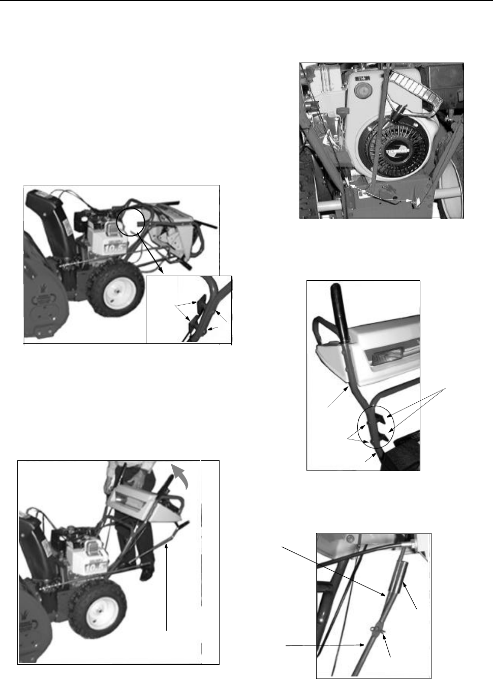 Page 5 of Yard-Man Snow Blower 31AE553F401 User Guide