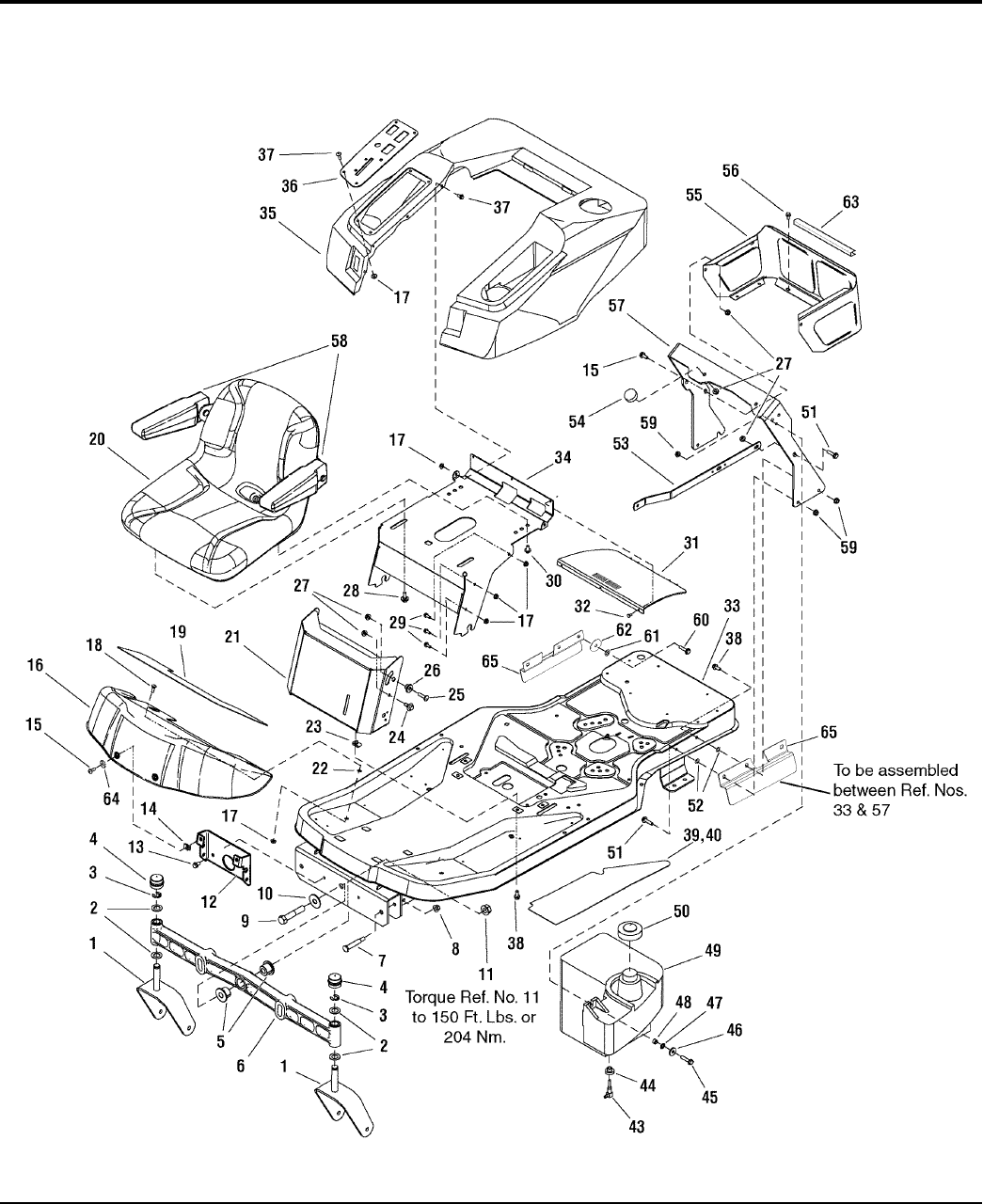 Page 6 of Simplicity Lawn Mower TP 400-4496-D-ZT-S User