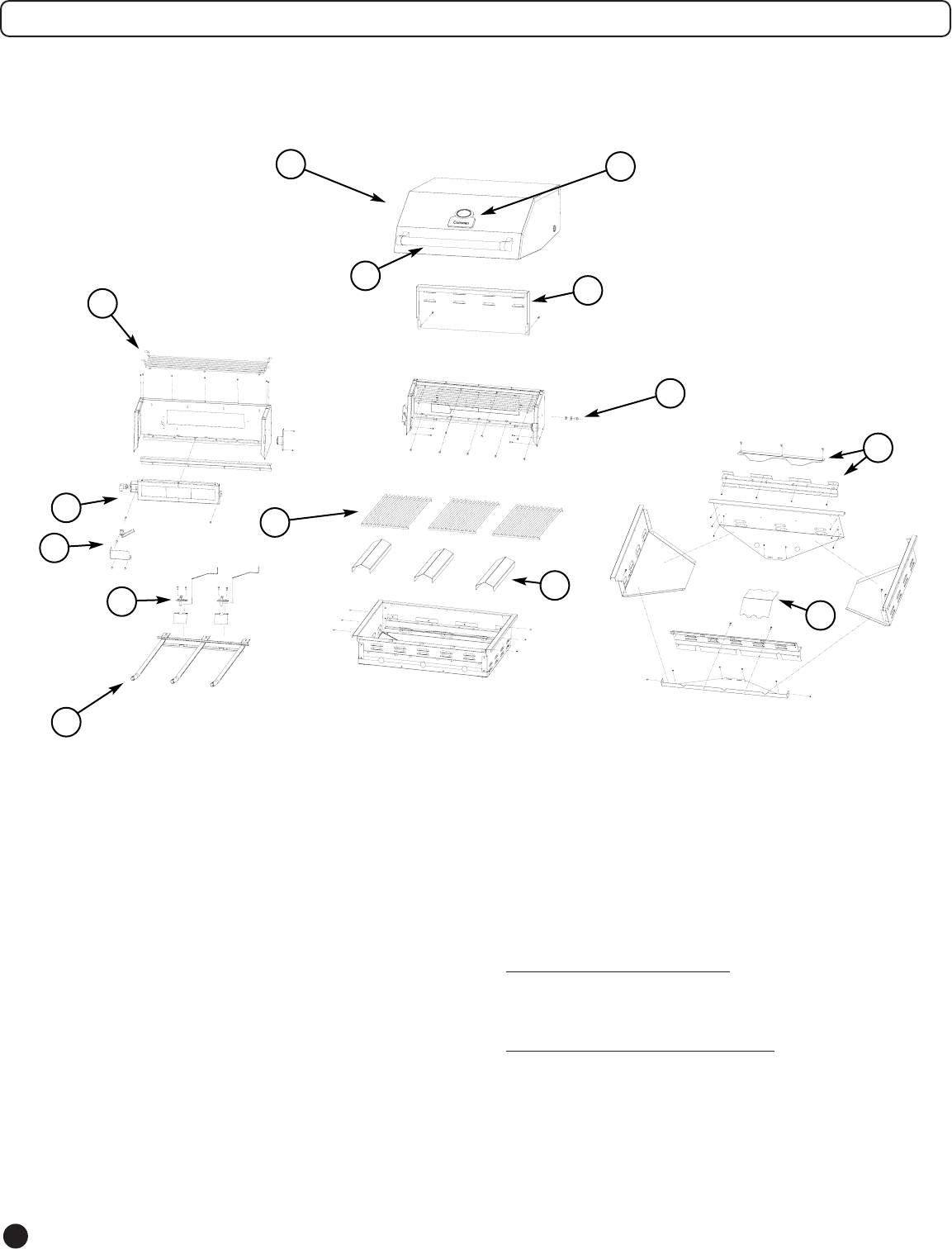 Page 8 of Coleman Gas Grill 9992-643 User Guide