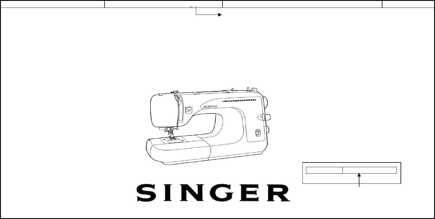 Singer sewing machine 621b user manual