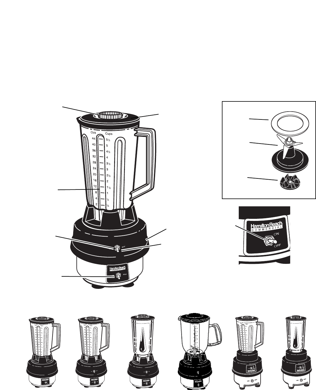 Hamilton Beach Commercial Blender Manual