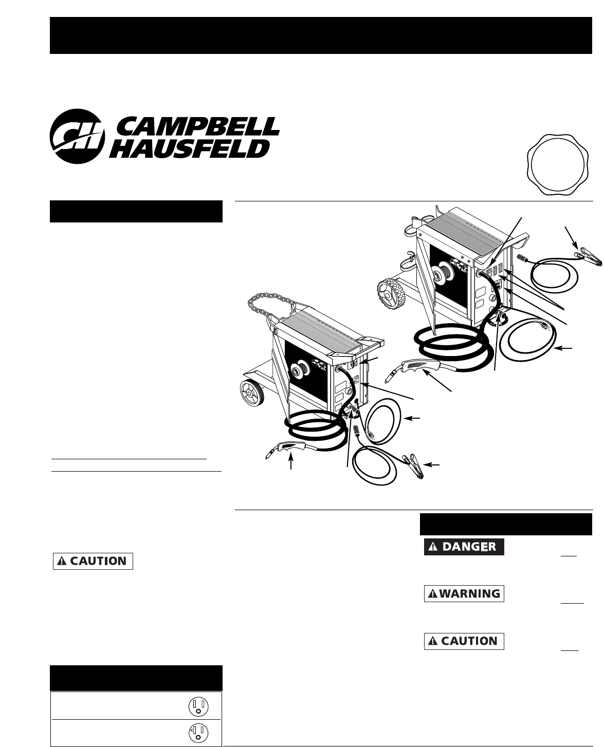 Campbell Hausfeld Microcassette Recorder WG3000 User Guide