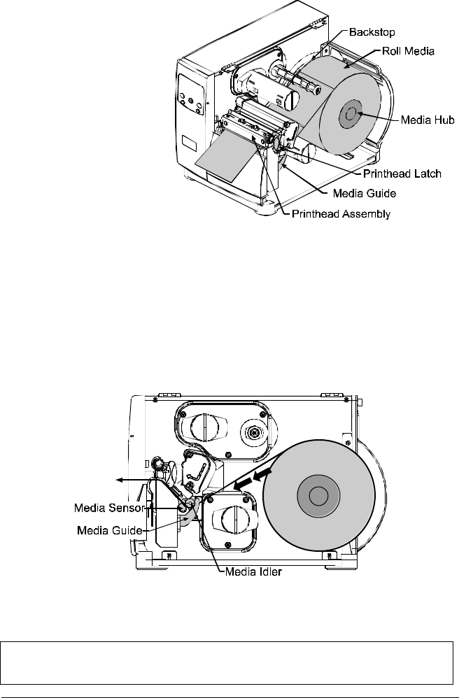 Page 28 of Datamax Printer I-4208 User Guide