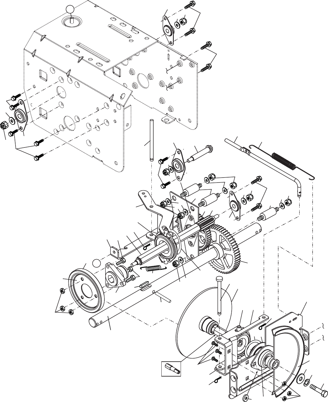 Page 26 of Poulan Snow Blower 185136 User Guide