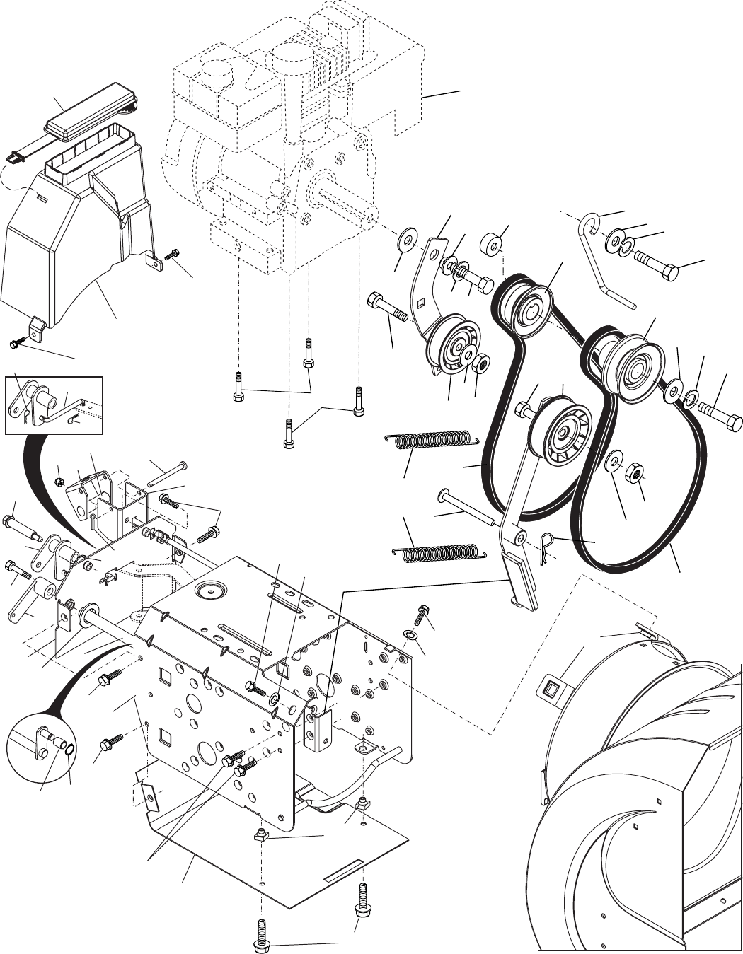 Page 28 of Poulan Snow Blower 185136 User Guide