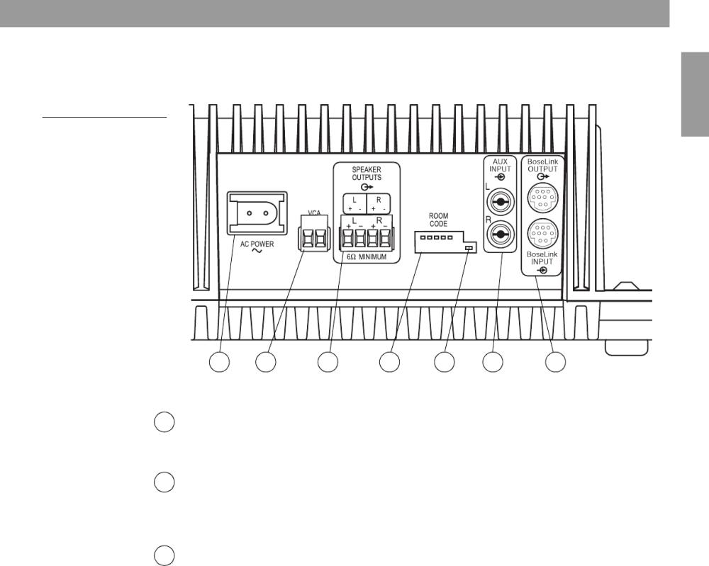 medium resolution of  bose lifestyle sa 3 amplifier wiring diagram 44 wiring diagram bose 901 series v wiring diagram