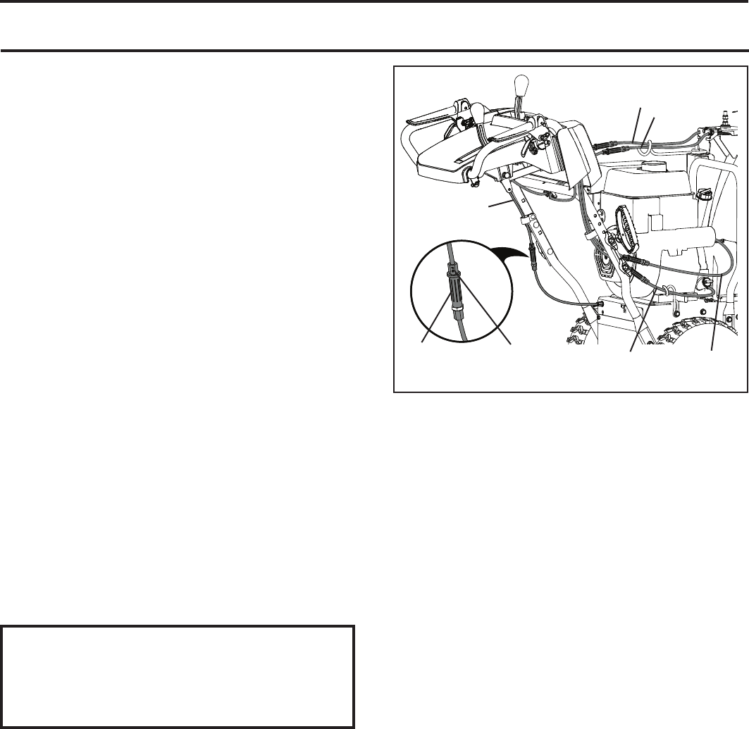 Page 18 of Poulan Pro Snow Blower PR240 User Guide