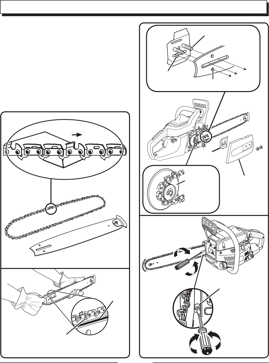 Page 23 of Homelite Chainsaw UT10516/16 IN. 33CC User