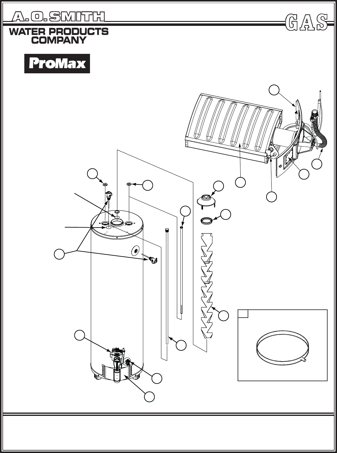 A.O. Smith Water Heater GNR40100 User Guide