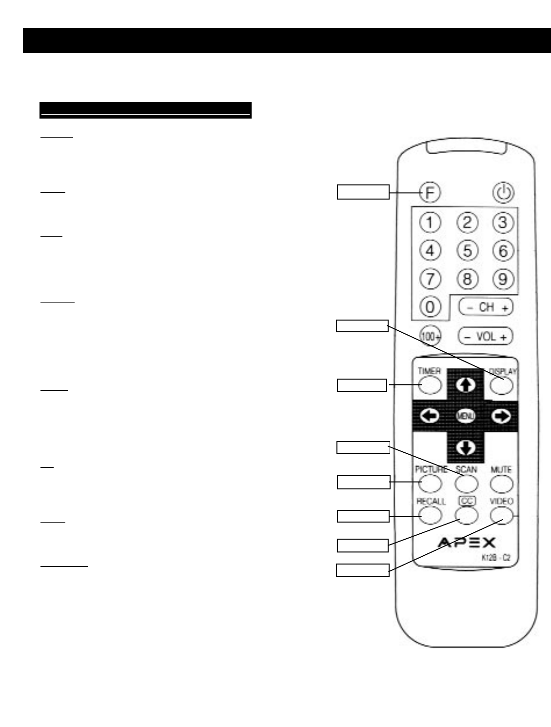 Page 21 of Apex Digital Flat Panel Television AT2002 User