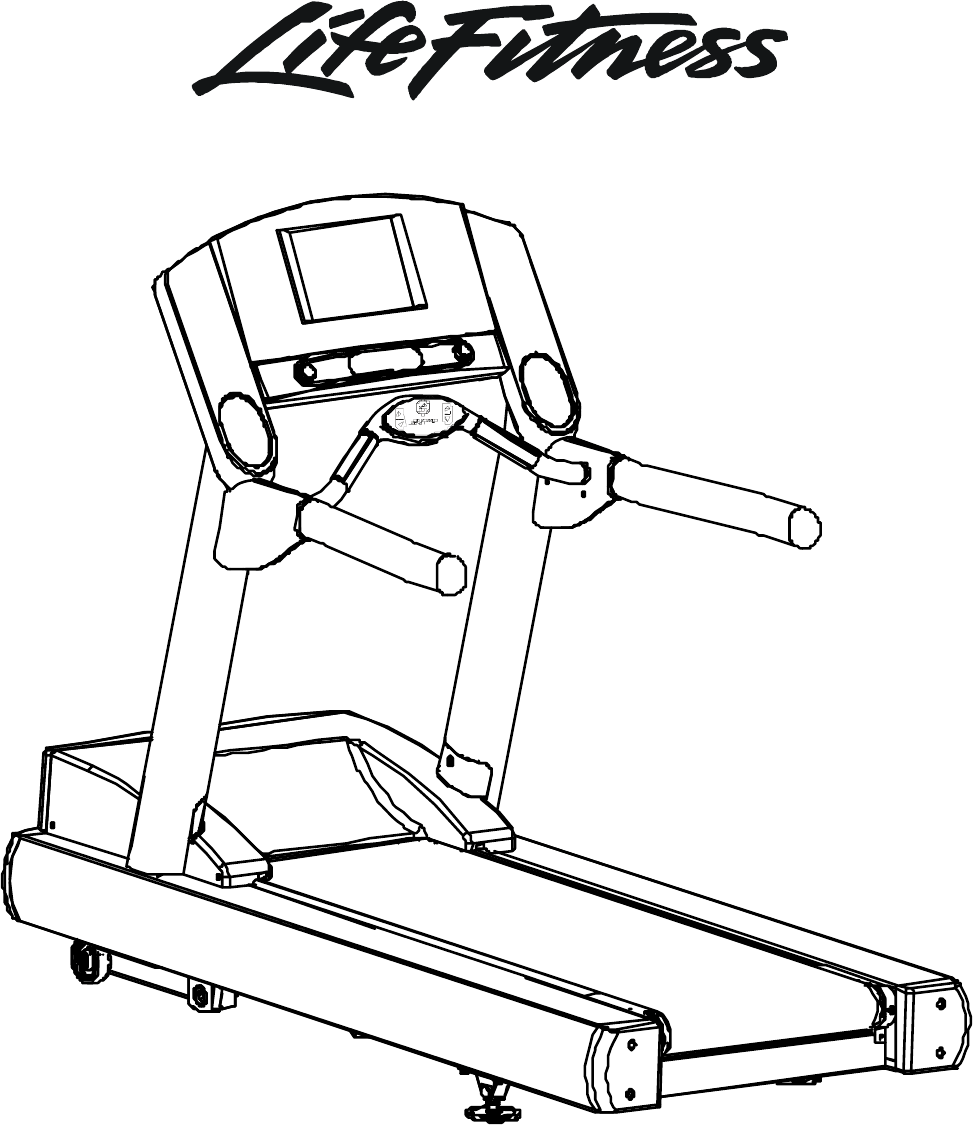 Life Fitness Treadmill 97TE-XXXX-08 User Guide