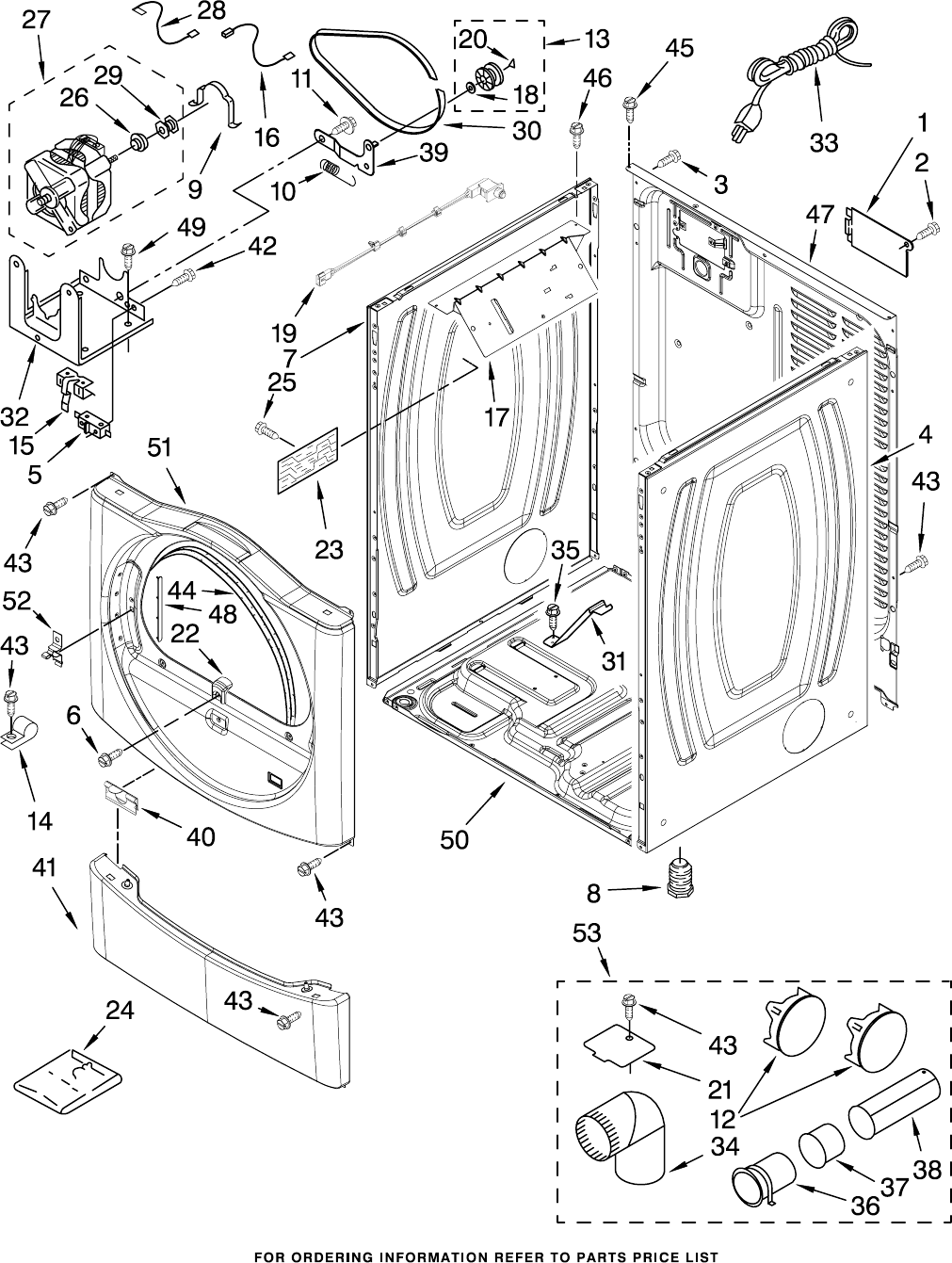 Page 3 of Whirlpool Clothes Dryer WGD8300SW1 User Guide