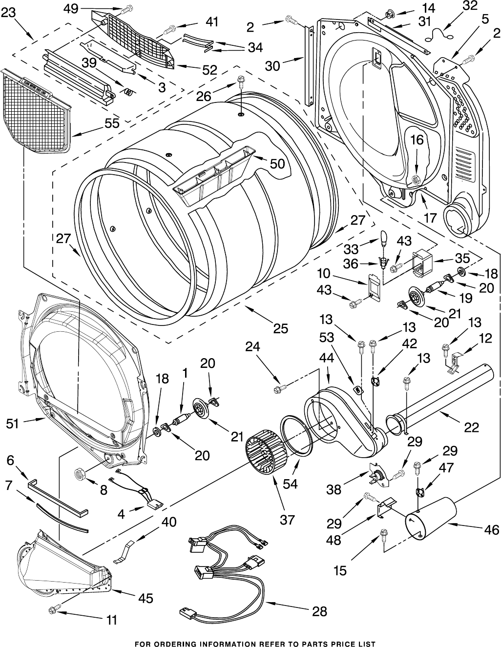 Page 5 of Whirlpool Clothes Dryer WGD8300SW1 User Guide