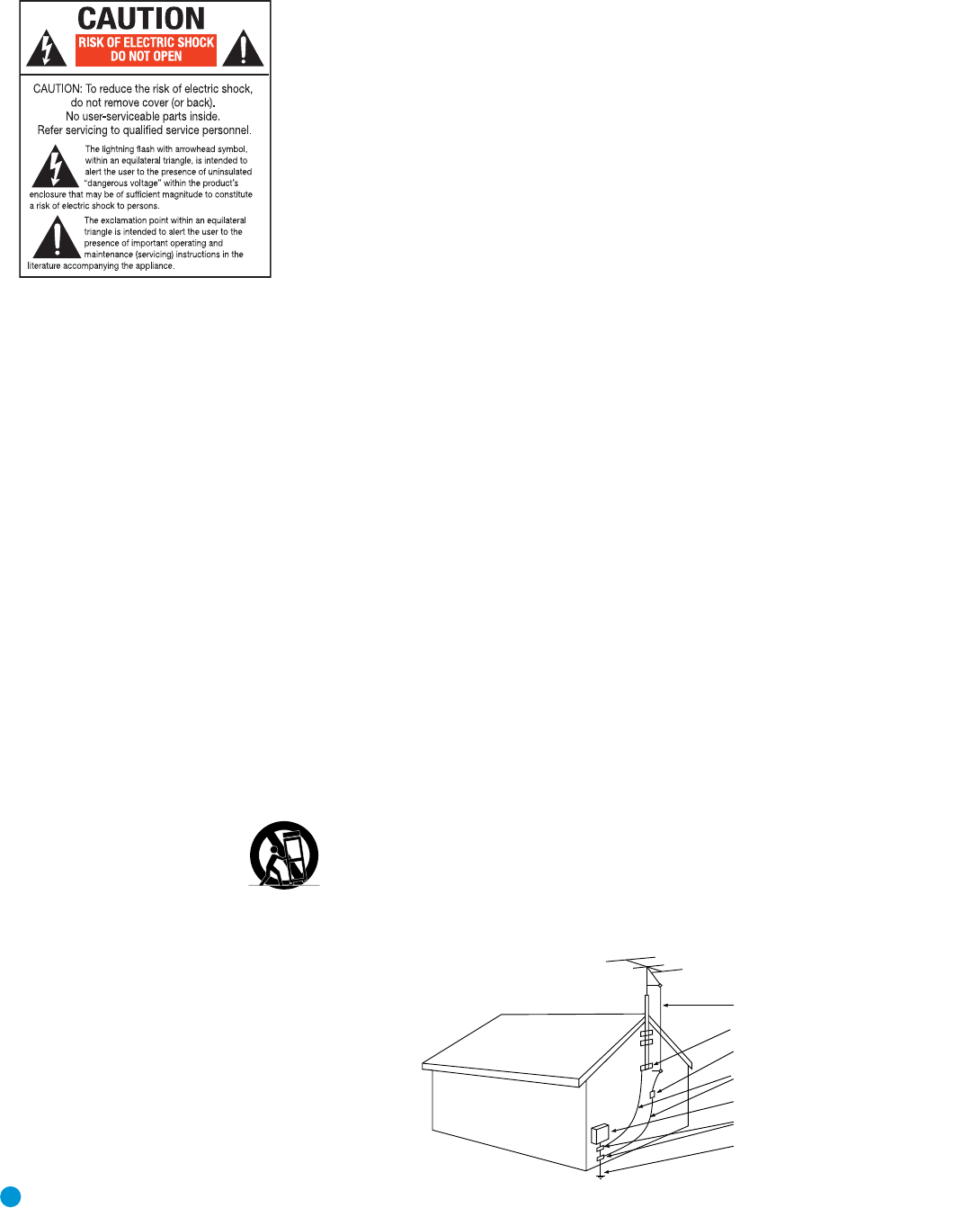 Page 2 of Harman-Kardon Stereo Receiver AVR 146 User Guide