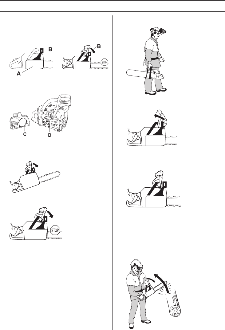 Page 8 of Husqvarna Chainsaw 445 User Guide