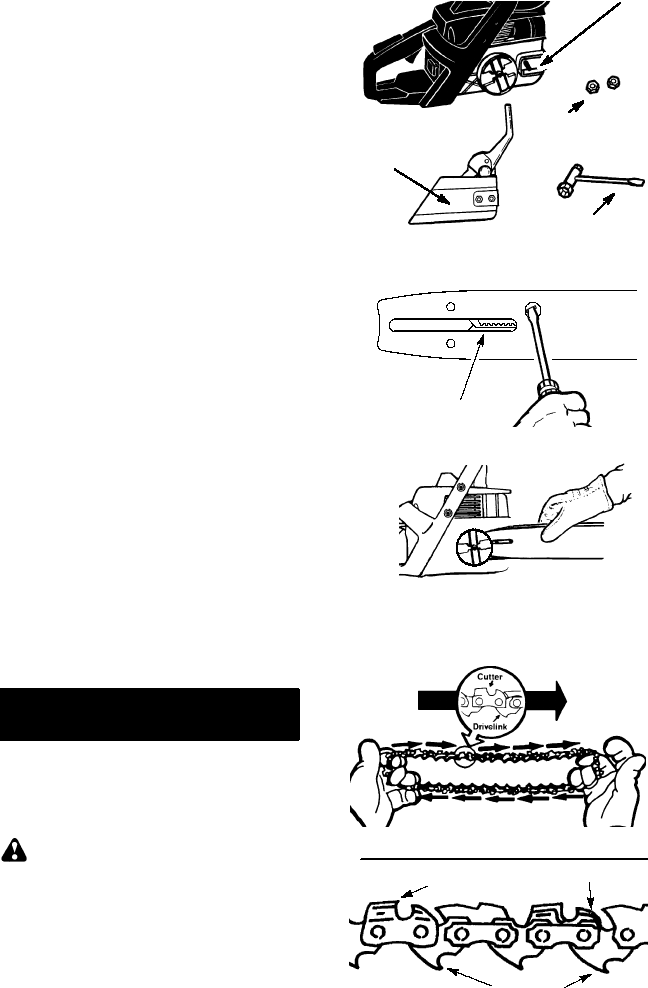 Page 6 of Poulan Chainsaw 2001-08 User Guide
