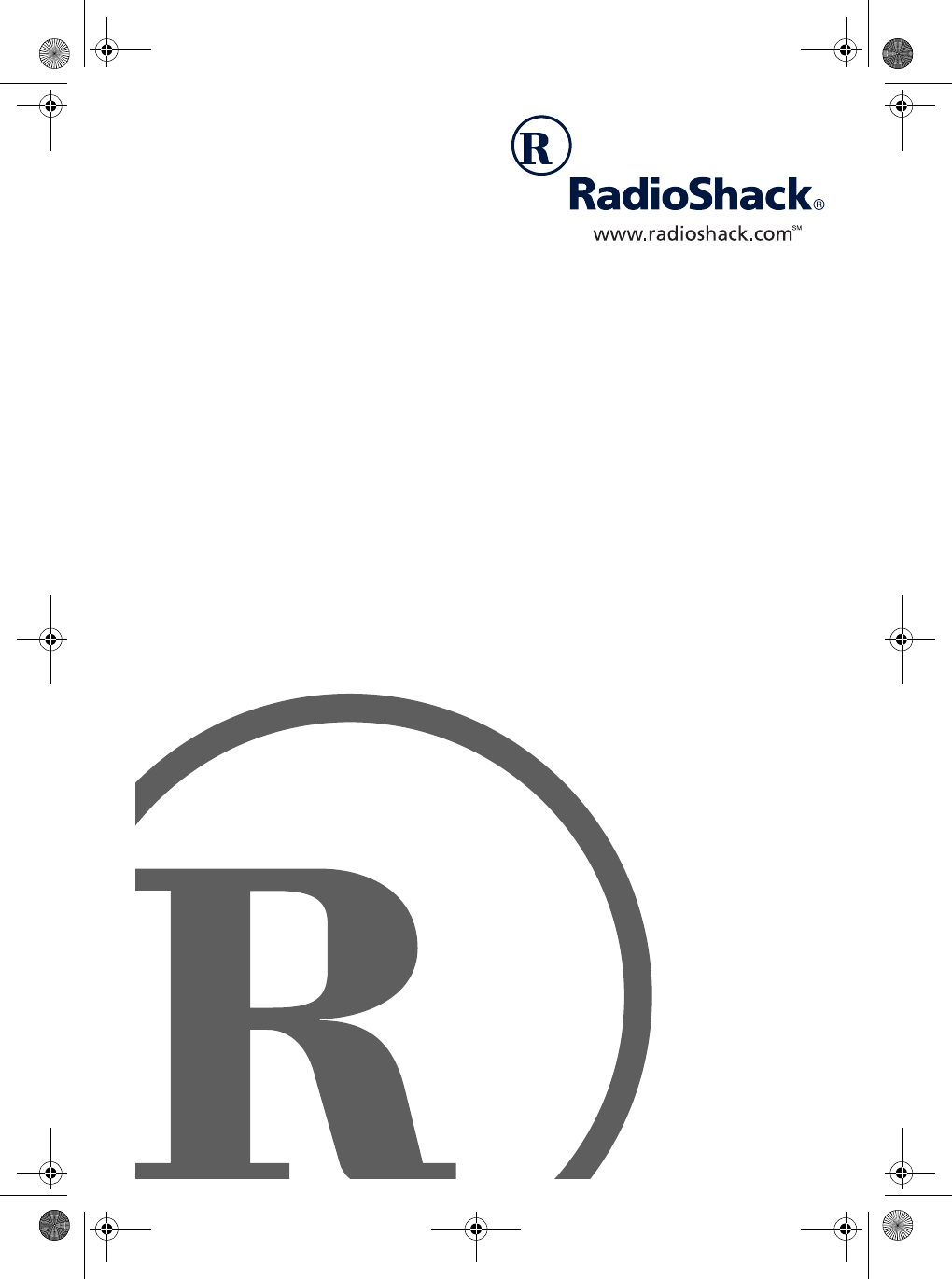 Radio Shack Answering Machine 900 MHz User Guide
