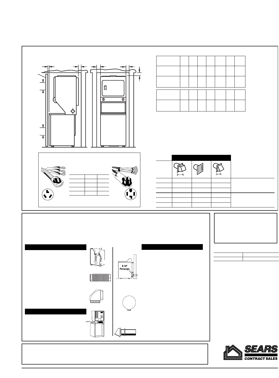 Page 2 of Kenmore Washer/Dryer 26-88752 User Guide
