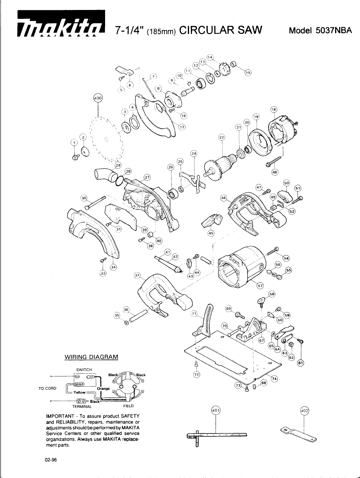 Makita Saw Nba User Guide