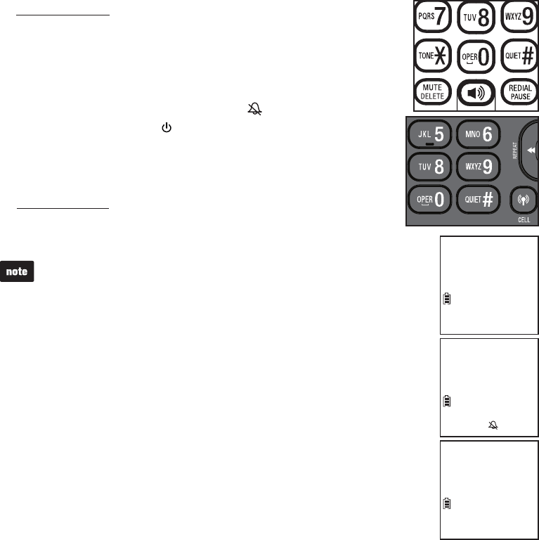 Page 27 of VTech Answering Machine dect 6.0 User Guide