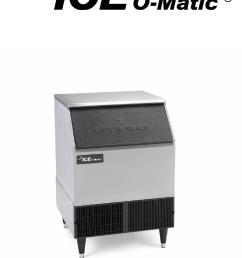 ice o matic iceu200 ice maker user manual [ 946 x 1261 Pixel ]