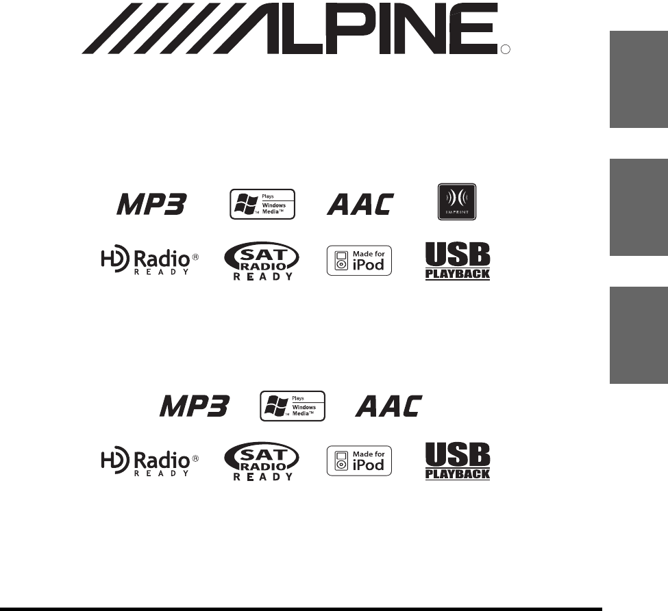 Alpine Car Stereo System IDA-X200 User Guide