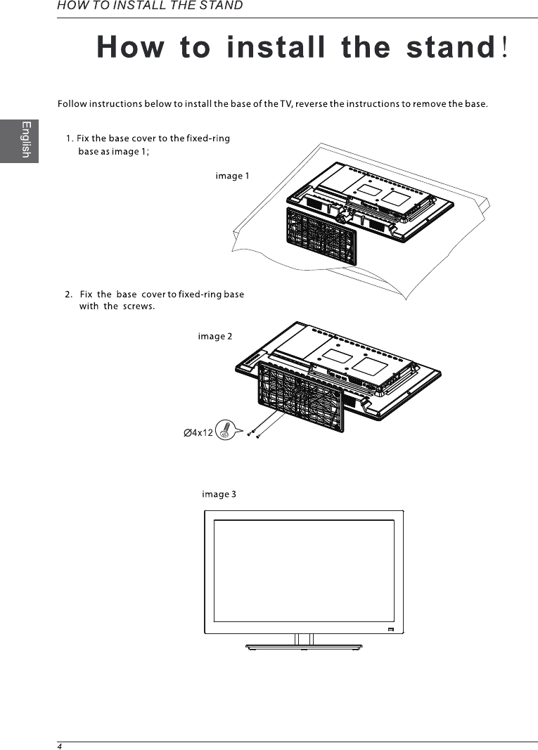Page 6 of Westinghouse Projection Television LD-2240 User