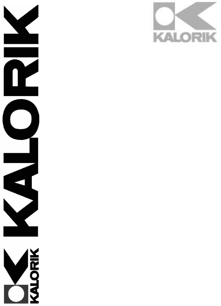 Kalorik Vacuum Cleaner USK SKV 3 User Guide
