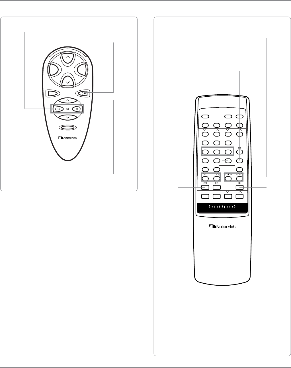 Page 19 of Nakamichi Stereo System SoundSpace 5 User Guide