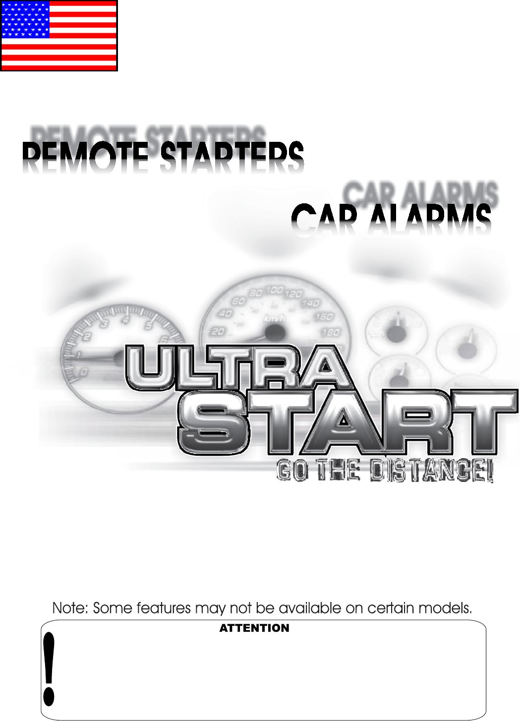 Ultra Start Remote Starter 1150 Series User Guide