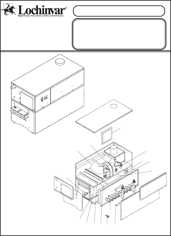 Lochinvar Water Heater CH 401-751 User Guide